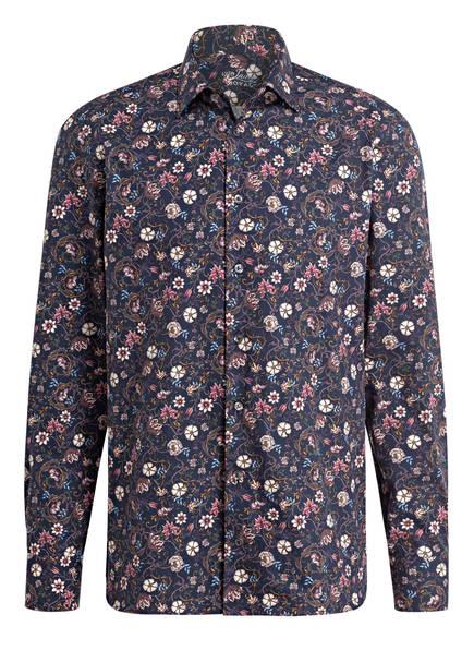 van Laack Hemd RET Tailored Fit, Farbe: DUNKELBLAU/ ROSA/ CREME (Bild 1)