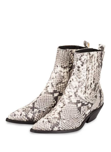 STEFANO COSTA Cowboy Boots, Farbe: SCHWARZ/ WEISS (Bild 1)