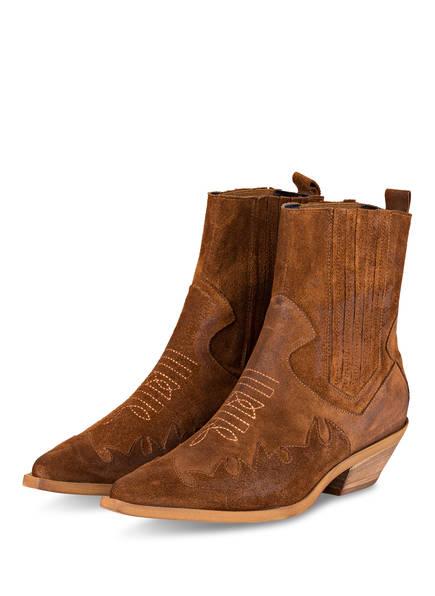 STEFANO COSTA Cowboy Boots, Farbe: BRAUN (Bild 1)
