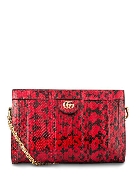 GUCCI Umhängetasche OPHIDIA SMALL, Farbe: HIBISCUS RED (Bild 1)