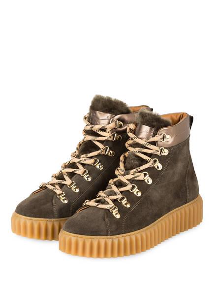 VOILE BLANCHE Hightop-Sneaker FENNY , Farbe: KHAKI (Bild 1)