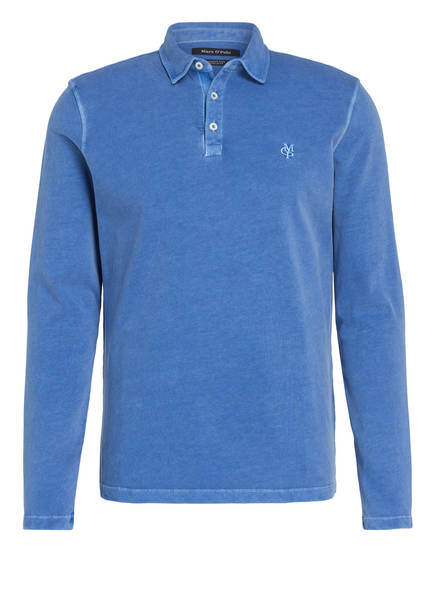 Marc O'Polo Poloshirt Regular Fit , Farbe: BLAU (Bild 1)