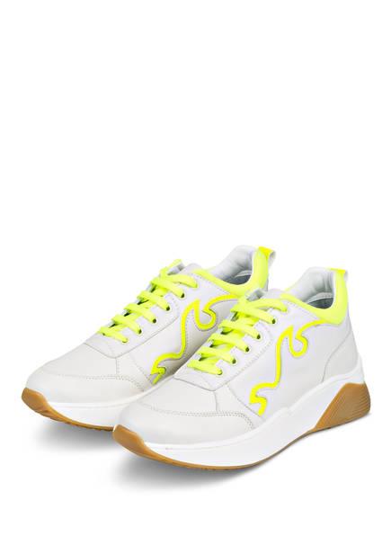 FIAMME Plateau-Sneaker , Farbe: WEISS/ GELB  (Bild 1)