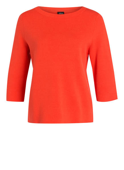 s.Oliver BLACK LABEL Pullover mit 3/4-Arm , Farbe: ORANGE (Bild 1)