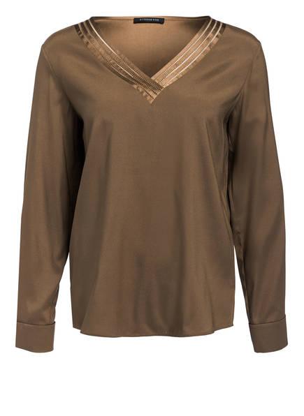STRENESSE Blusenshirt aus Seide, Farbe: TAUPE (Bild 1)