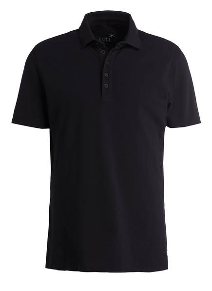 Juvia Piqué-Poloshirt BRISTOL, Farbe: SCHWARZ (Bild 1)