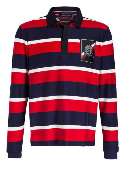 Tommy Hilfiger Piqué-Poloshirt rot