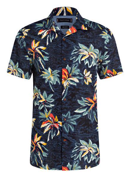 Tommy Hilfiger Resorthemd Mit Leinen blau