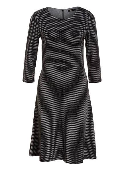 MORE & MORE Jerseykleid, Farbe: GRAU/ SCHWARZ (Bild 1)