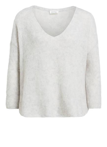 American Vintage Pullover, Farbe: HELLGRAU MELIERT (Bild 1)