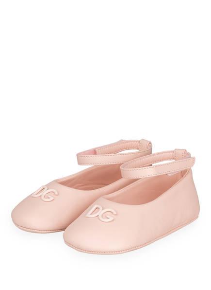 DOLCE&GABBANA Ballerinas, Farbe: ROSA (Bild 1)