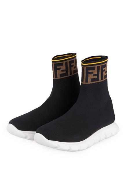 FENDI Hightop-Sneaker, Farbe: SCHWARZ (Bild 1)
