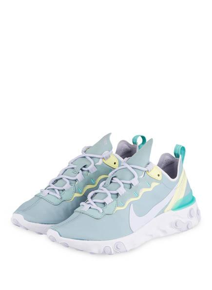 Nike Sneaker REACT 55, Farbe: HELLBLAU (Bild 1)