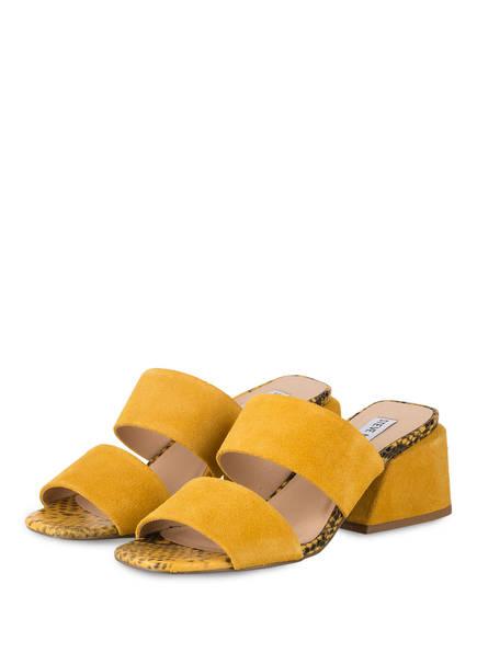 STEVE MADDEN Pantoletten KELINE, Farbe: GELB (Bild 1)