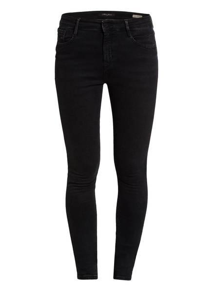 mavi Skinny Jeans LUCY, Farbe: SMOKE STR BLACK (Bild 1)