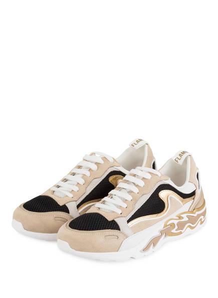 sandro Sneaker, Farbe: WEISS/ GOLD (Bild 1)