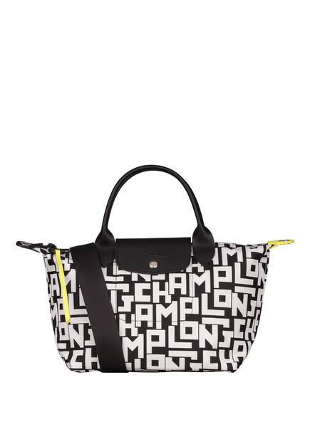 LONGCHAMP Handtasche LE PLIAGE S, Farbe: SCHWARZ/ WEISS (Bild 1)