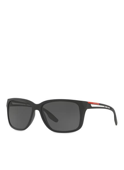PRADA LINEA ROSSA Sonnenbrille PS 03TS, Farbe: 1BO5S0 - SCHWARZ/ GRAU (Bild 1)