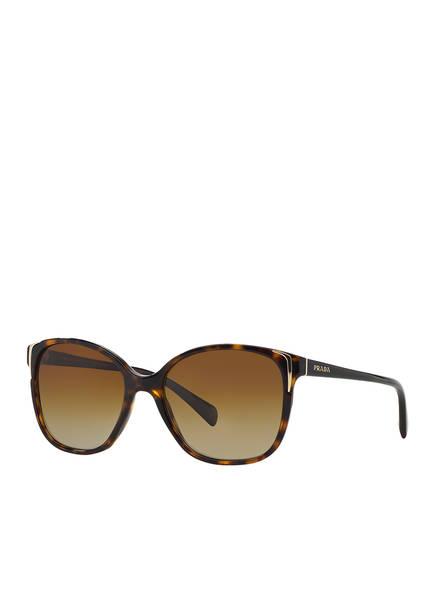 PRADA Sonnenbrille PR 01OS , Farbe: 2AU6E1 - HAVANA/ BRAUN VERLAUF (Bild 1)
