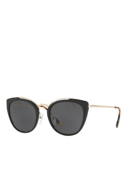 PRADA Sonnenbrillen PR 20US, Farbe: 1AB5S0 - SCHWARZ/ DUNGELGRAU (Bild 1)