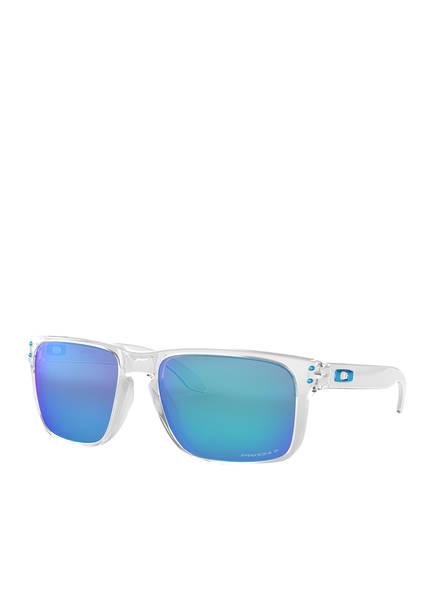 OAKLEY Sonnenbrille HOLBROOK XL, Farbe: 941707 - TRANSPARENT/ BLAU VERSPIEGELT (Bild 1)