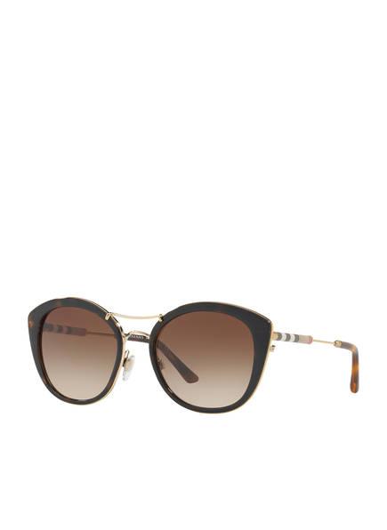BURBERRY Sonnenbrille BE4251Q, Farbe: 300213 - HAVANA/ BRAUN VERLAUF (Bild 1)