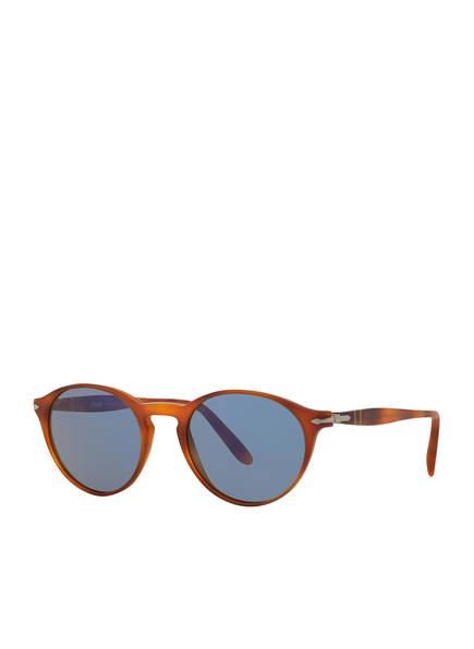 Persol Sonnenbrille PO3092SM, Farbe: 900656 - HAVANA/ GRAU  (Bild 1)