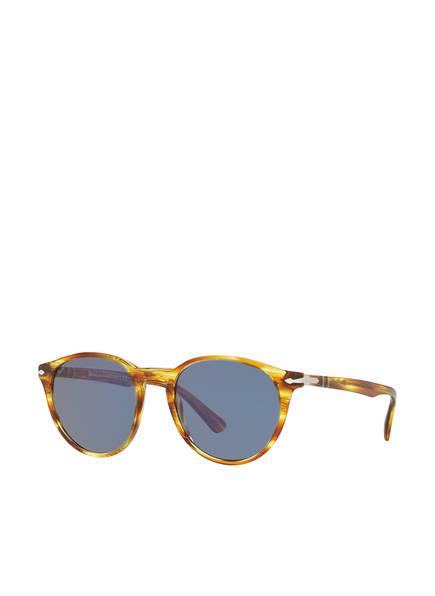 Persol Sonnenbrille PO3152S , Farbe: 904356 - HAVANA/ BLAU (Bild 1)