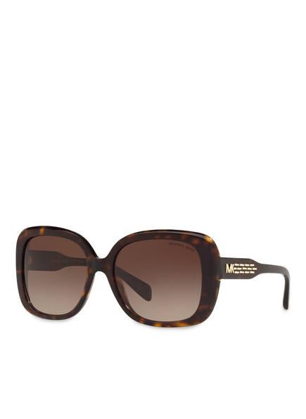 MICHAEL KORS Sonnenbrille MK-2081, Farbe: 300613 - DUNKELBRAUN/ BRAUN VERLAUF (Bild 1)