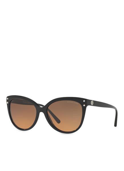 MICHAEL KORS Sonnenbrille MK-2045, Farbe: 317711 - SCHWARZ/ ORANGE VERLAUF (Bild 1)
