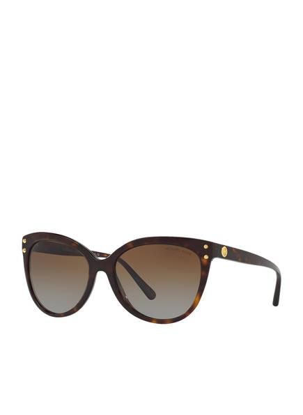 MICHAEL KORS Sonnenbrille MK2045, Farbe: 3006T5 - DARK TORTOISE ACETATE (Bild 1)