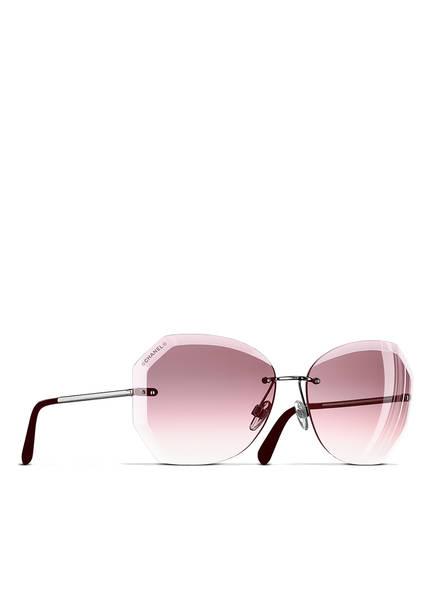 CHANEL Sunglasses Katzenaugenförmige Sonnenbrille, Farbe: C1083P - ROSA/ ROSÉ VERLAUF (Bild 1)