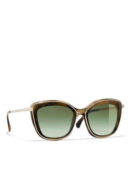 CHANEL Sunglasses Sonnenbrille, Farbe: 1577S3 - BRAUN/ GRÜN VERLAUF (Bild 1)