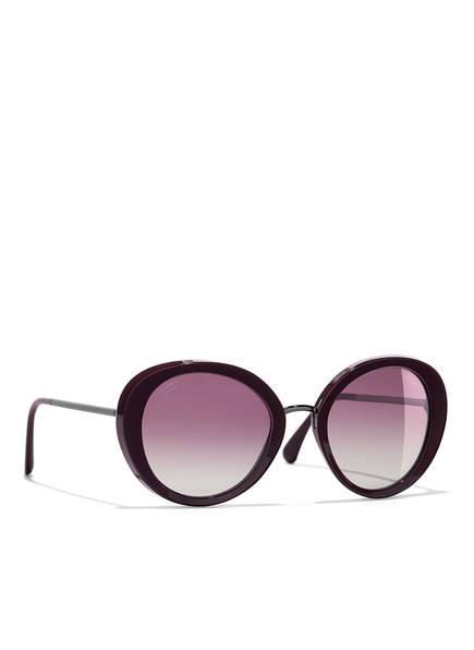 CHANEL Sunglasses Runde Sonnenbrille, Farbe: ROT & LILA VERLAUF POLARISIERT (Bild 1)
