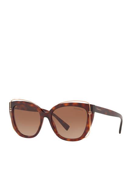 TIFFANY & Co. Sunglasses Sonnenbrille TF4148, Farbe: HAVANA/ HELLBRAUN VERLAUF (Bild 1)