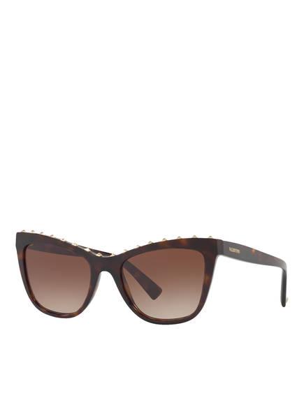 VALENTINO Sonnenbrille VA4022, Farbe: 500213 - HAVANA/ BRAUN VERLAUF (Bild 1)