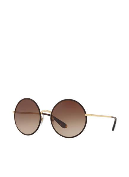 DOLCE&GABBANA Sonnenbrille DG2155, Farbe: 132013 - BRAUN/ BRAUN VERLAUF (Bild 1)