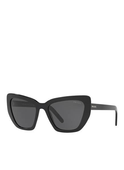 PRADA Sonnenbrille PR 08VS, Farbe: 1AB5S0 - SCHWARZ/ SCHWARZ (Bild 1)
