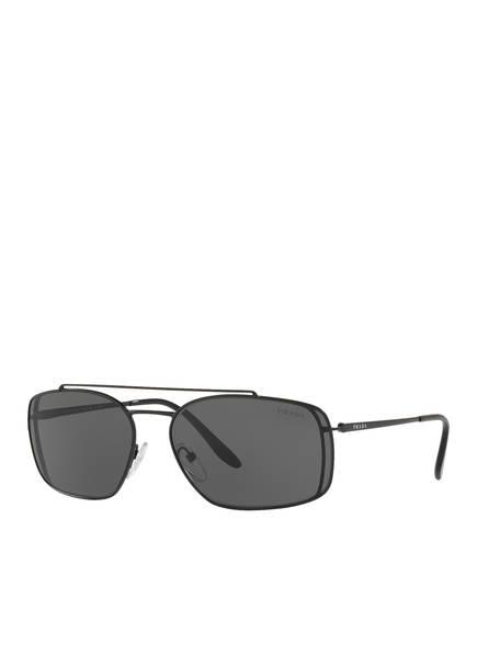 PRADA Sonnenbrille PR 64VS, Farbe: 1BO1A1 - SCHWARZ/ DUNKELGRAU (Bild 1)