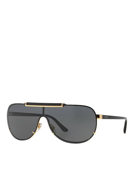 VERSACE Sonnenbrille VE2140, Farbe: 100287 - SCHWARZ/ GRAU (Bild 1)