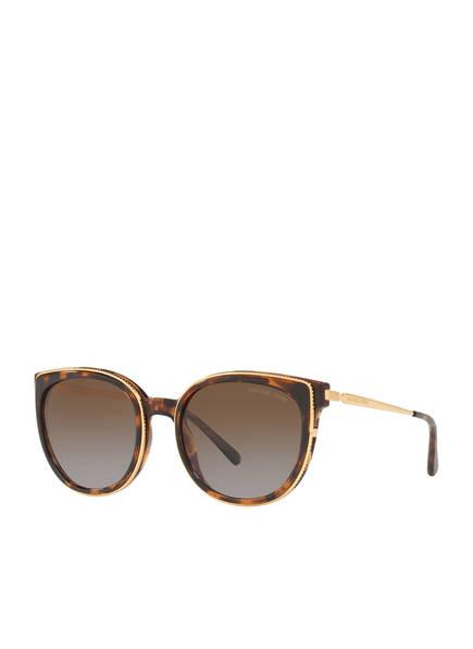 MICHAEL KORS Sonnenbrille MK2089U, Farbe: 3333T5 - HAVANA/ BRAUN VERLAUF (Bild 1)