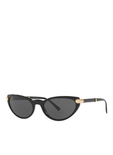 VERSACE Sonnenbrille VE4365Q, Farbe: SCHWARZ/ SCHWARZ (Bild 1)
