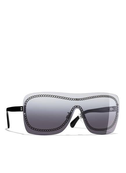 CHANEL Sunglasses Rechteckige Sonnenbrille , Farbe: SCHWARZ & GRAU VERLAUF (Bild 1)