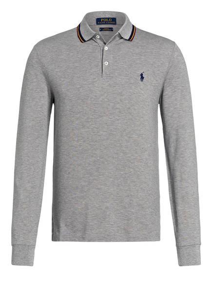 POLO RALPH LAUREN Piqué-Poloshirt  Slim Fit , Farbe: GRAU (Bild 1)