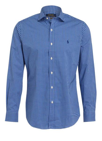 POLO RALPH LAUREN Hemd Custom Fit, Farbe: BLAU/ DUNKELBLAU (Bild 1)