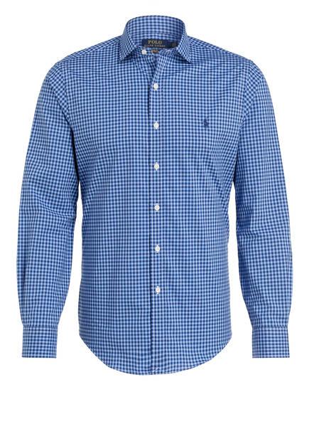 POLO RALPH LAUREN Hemd Slim Fit, Farbe: DUNKELBLAU/ BLAU KARIERT (Bild 1)