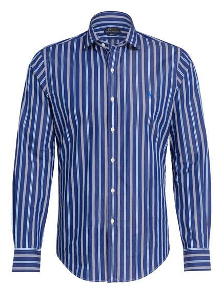 POLO RALPH LAUREN Hemd Slim Fit, Farbe: WEISS/ BLAU (Bild 1)