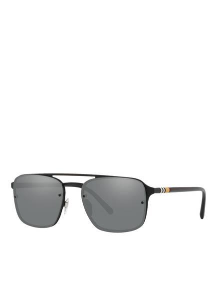 BURBERRY Sonnenbrille BE3095 , Farbe: 1213G8 - SCHWARZ/ GRAU  (Bild 1)