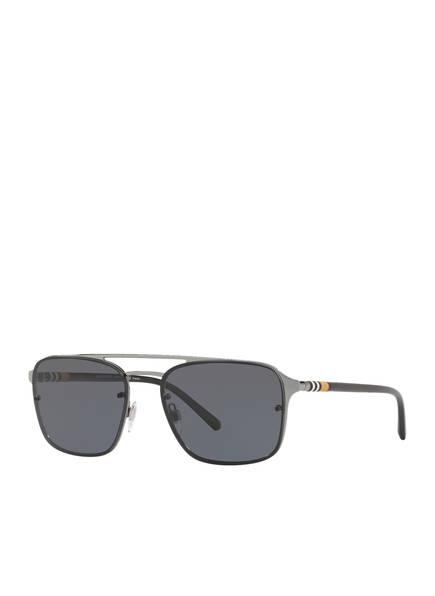 BURBERRY Sonnenbrille BE3095 , Farbe: 100381 - SCHWARZ/ DUNKELGRAU (Bild 1)