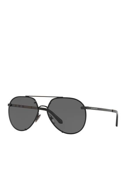 BURBERRY Sonnenbrille BE3099 , Farbe: 100187 - SCHWARZ/ SCHWARZ (Bild 1)